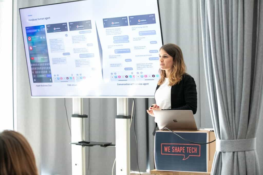 Lunch & Learn: Chatbots: AI-based communication in the digital age with Geraldine Lüdi, 28.2.20