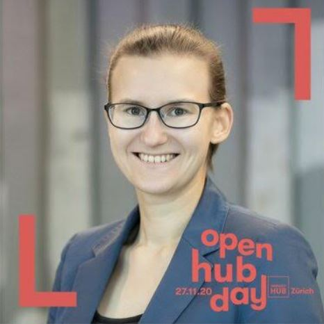 Clever Data Visualization for Everyone by Teresa Kubacka during Open Hub Day