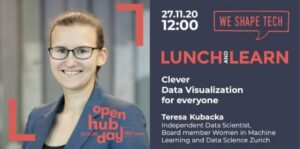 Visual of event Clever Data Visualization for Everyone by Teresa Kubacka