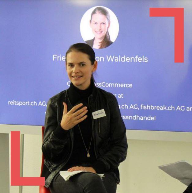 14 November Inspiring Talks Series with Friederike von Waldenfels Blog