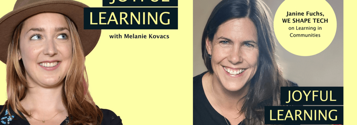 Cover image Joyful Learning Podcast by Melanie Kovacs and Janine Fuchs