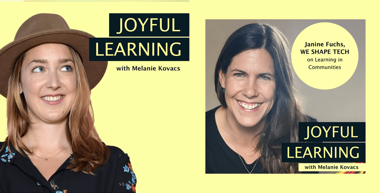 Cover image Joyful Learning Podcast by Melanie Kovacs and Janine Fuchs