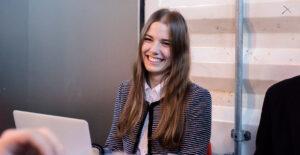 Portrait photo of smiling Lisa-Ann Preuss