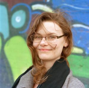 Portrait photo of role model Philomena Schwab on We Shape Tech website