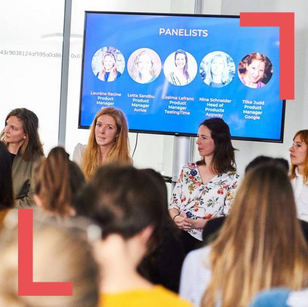 Product Management – At the Center of the Storm with Lauréne Racine, Lotta Sandbu, Cosima Lefranc, Nina Schneider and Tilke Judd Photos