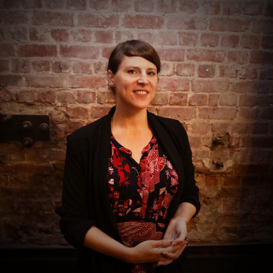 Portrait photo of role model Sandra Tobler on We Shape Tech website