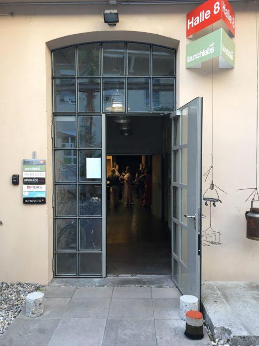 Launchlabs entrance to event Talk with tech entrepreneur Jonas Felix