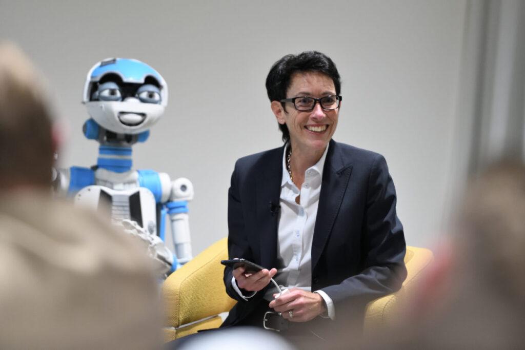 CEO Sandra Lienhart WST bei Bank Cler, during Inspiring Talk Series