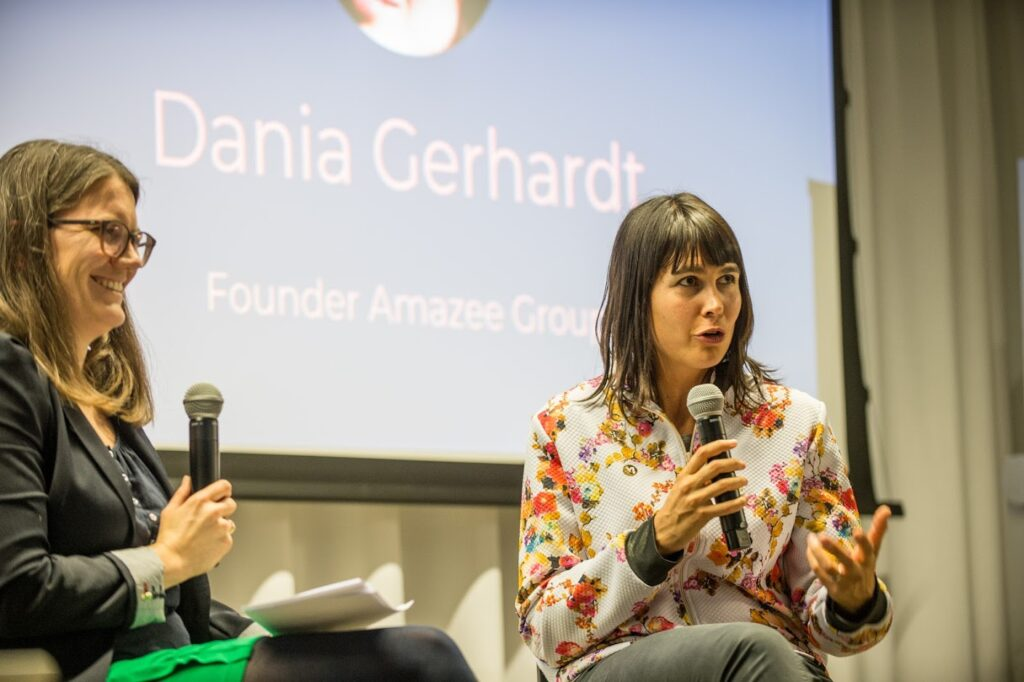 What's the skillset required in our time to be successful and happy?   With Dania Gerhardt, founder Amazee   @ ebay Inc  