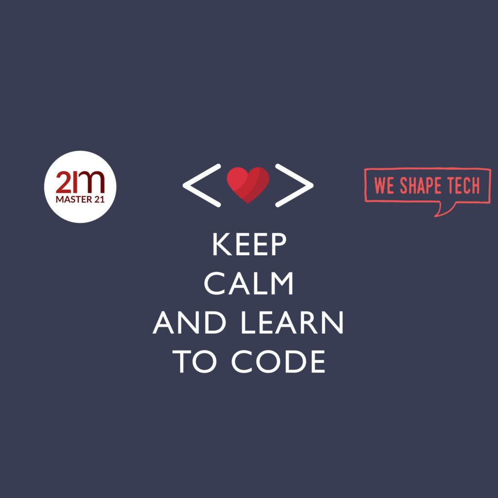 18 October Learn to Code with Master21.Academy @ WE SHAPE TECH during CodeWeekEU